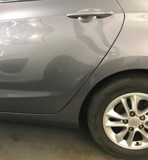 Hyundai bodywork repair after