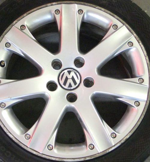 Volkswagen alloy wheel repair