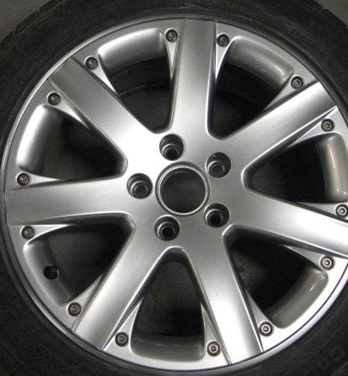 Volkswagen alloy wheel repair split rim completed