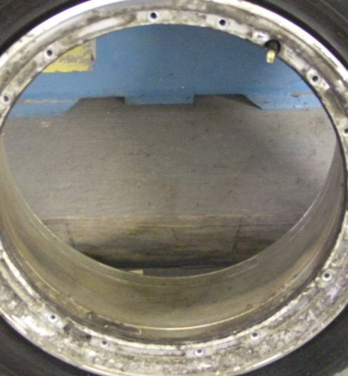 Volkswagen alloy wheel repair split rim