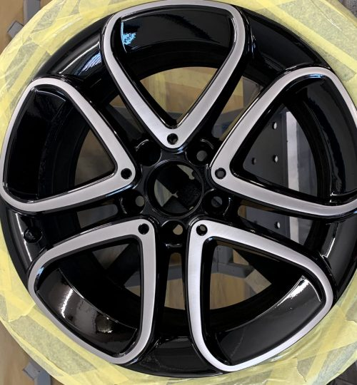 mercedes alloy wheel repair