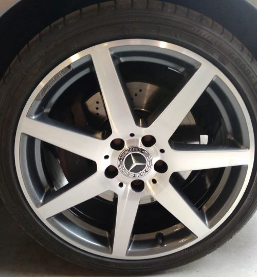 mercedes diamond cut alloy wheel repair wakefield