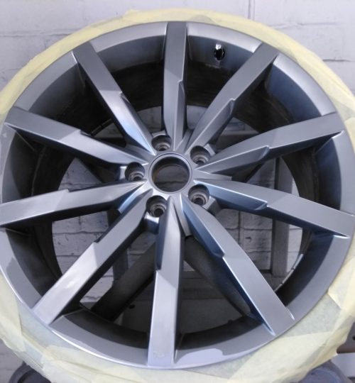 vw antracite alloy wheel repair wakefield